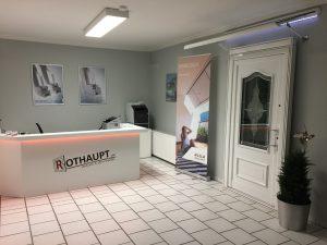 Ausstellungsraum für Bauelemente Büro Rothaupt Wolfenbüttel
